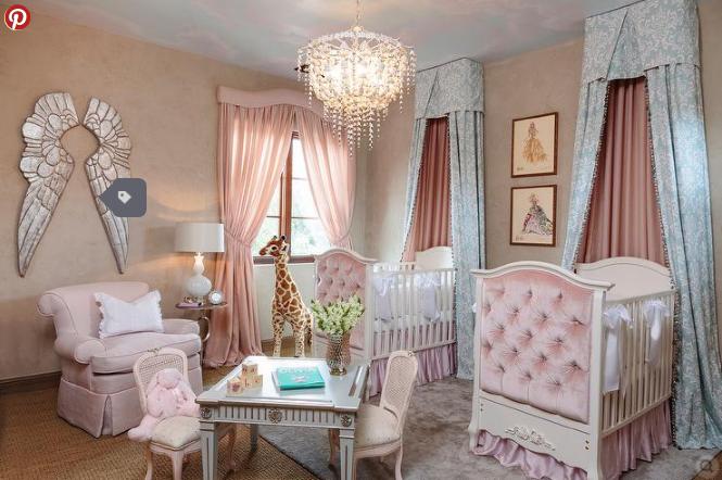 desain kamar tidur untuk bayi kembar