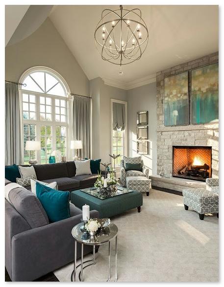 desain ruang keluarga yang harmonis