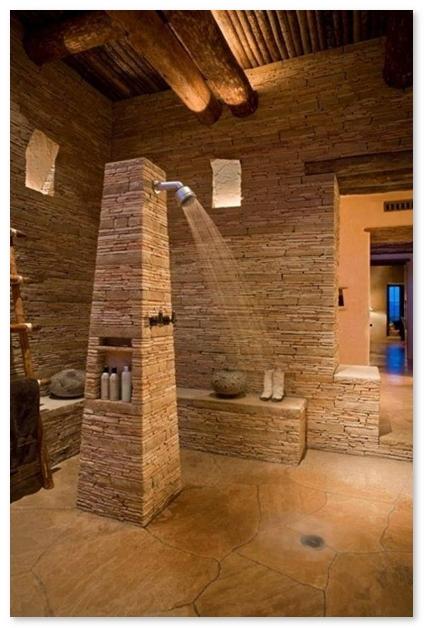tempat shower bilas yang unik