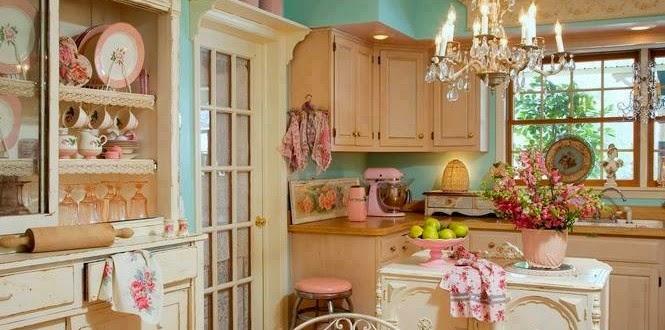 warna interior rumah vintage warna lembut