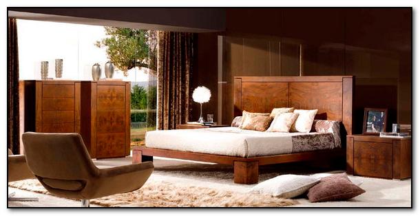 furniture kayu desain kontemporer kamar tidur