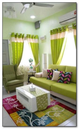 ruang-tamu-kecil-ukuran-3-x-4-warna-hijau