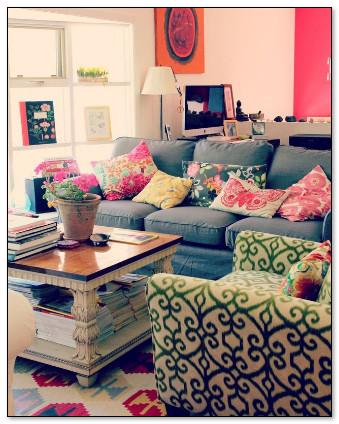 campuran beberapa furniture yang tetap eye catching