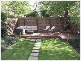 desain taman minimalis rumah minimalis