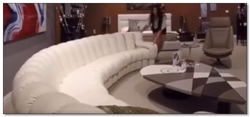 gambar sofa panjang yang bisa digeser berubah bentuk
