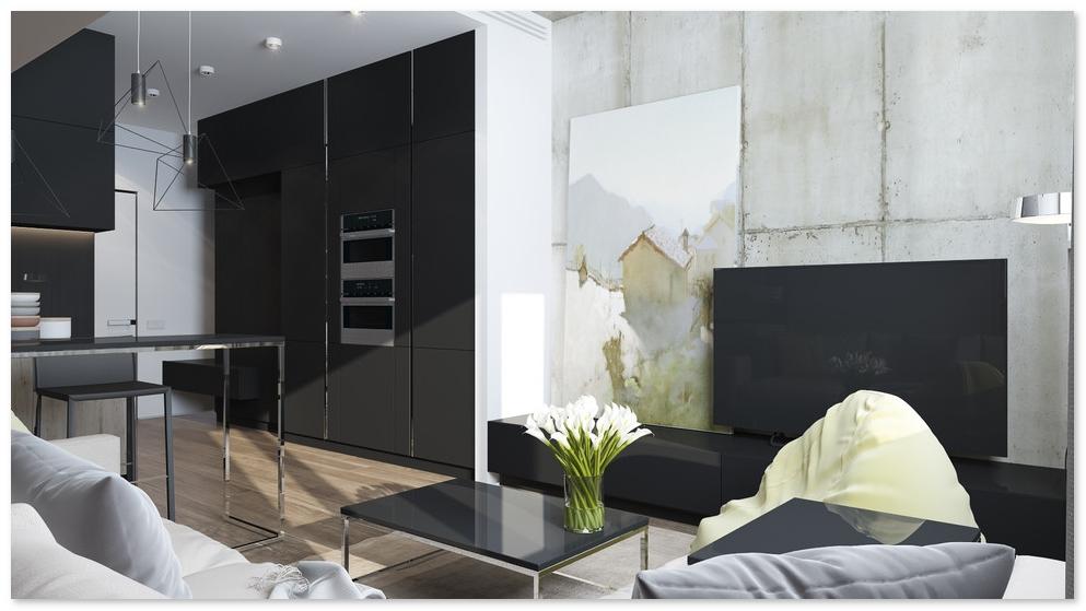 interior rumah tipe 21 minimalis