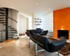 kombinasi-warna-orange-interior-minimalis