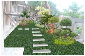 penataan taman minimalis rumah yang bagus