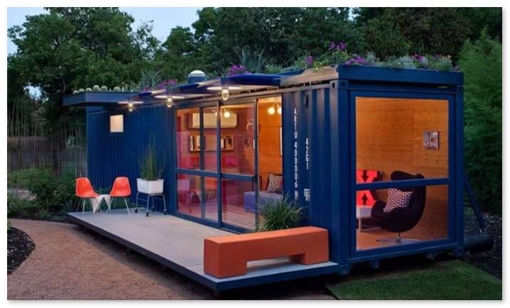 rumah minimalis dari kontainer