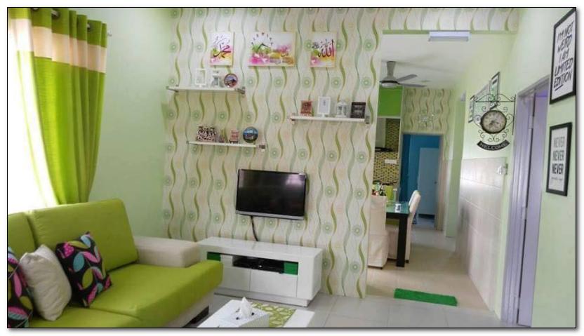model ruang tamu sempit desain rumah