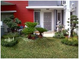 tips desain taman minimalis rumah bagian depan