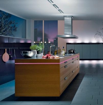 desain pencahayaan pada peralatan dapur