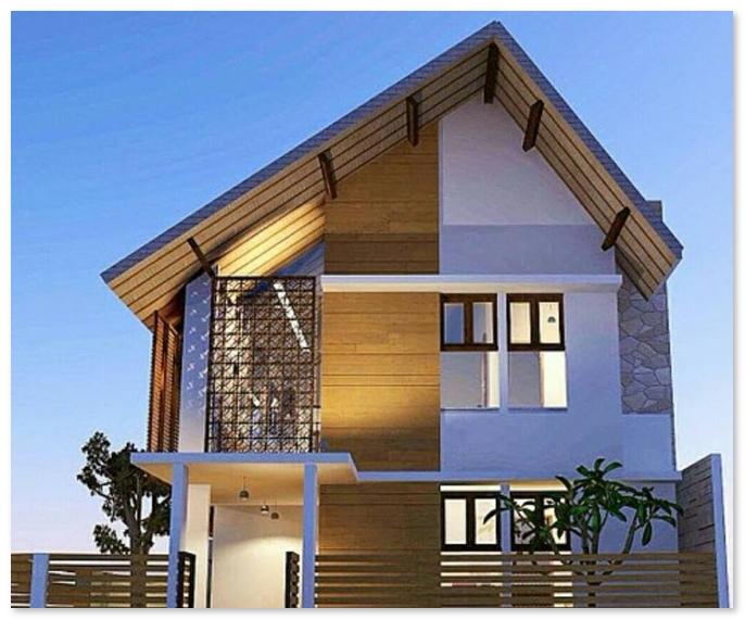 desain rumah di pinggir pantai