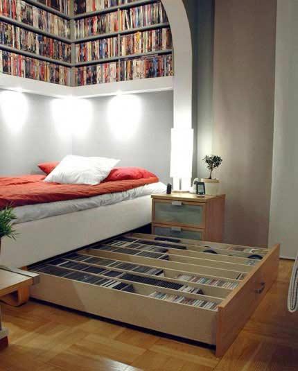 kamar tidur kecil sempit