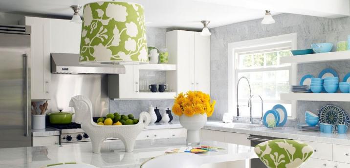 pencahayaan di ruang dapur baik dari natural maupun dari lampu