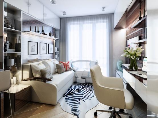 ruang tamu rumah kecil 36 72 desain interior