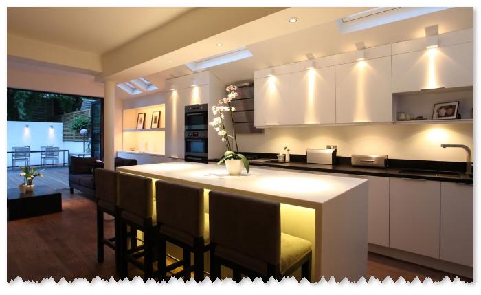 teknik pencahayaan pada ruang dapur