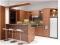 dapur minimalis modern coklat terbaru
