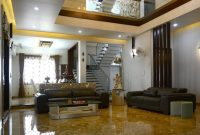 desain interior rumah mewah bertingkat modern