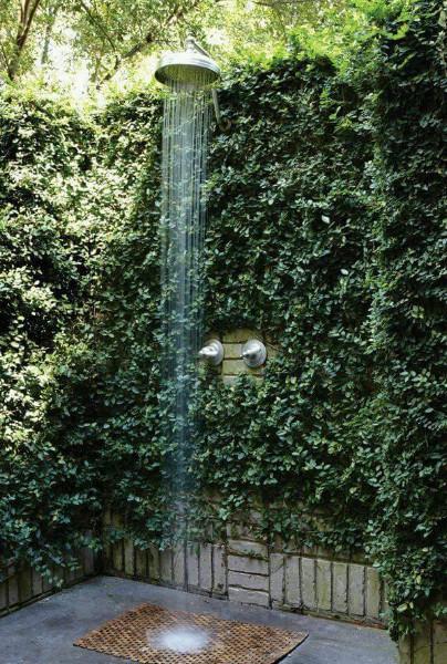 desain kamar mandi outdoor keren