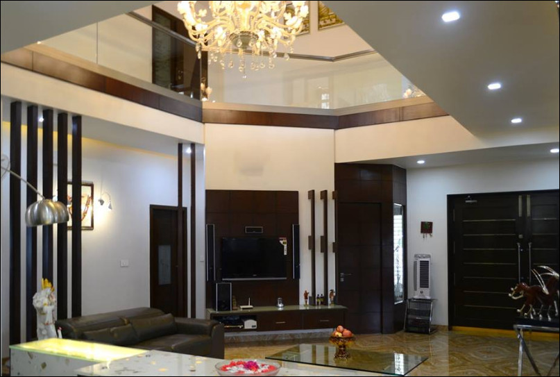 interior rumah mewah tingkat modern