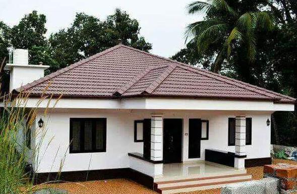 rumah di desa suasana kampung yang nyaman