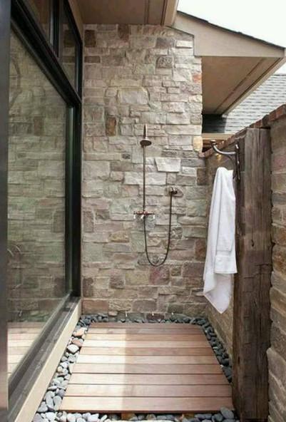sensasi mandi di kamar mandi outdoor