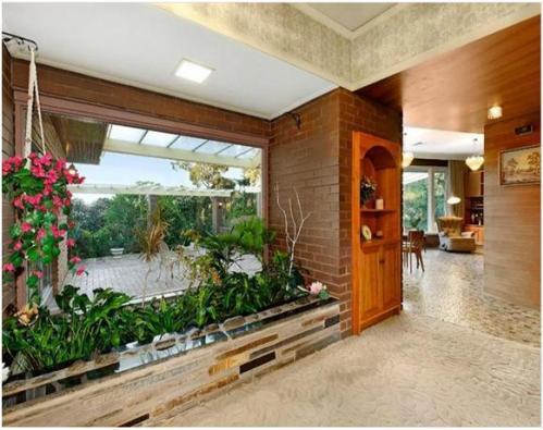 taman keren di dalam rumah