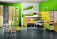 cat hijau untuk kamar anak kecil