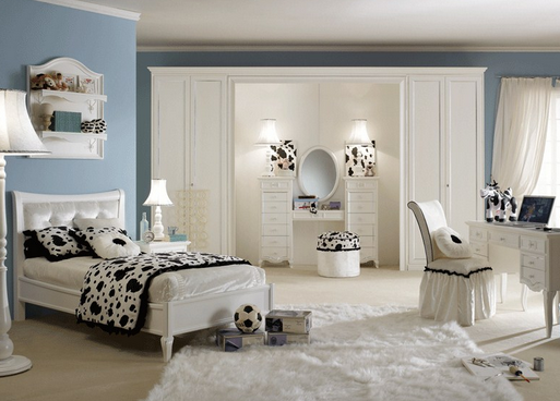 cat warna putih untuk kamar tidur anak