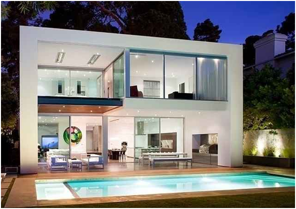 desain rumah 2 lantai modern mewah desain rumah