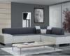 desain kursi sofa ruang tamu modern minimalis abu abu