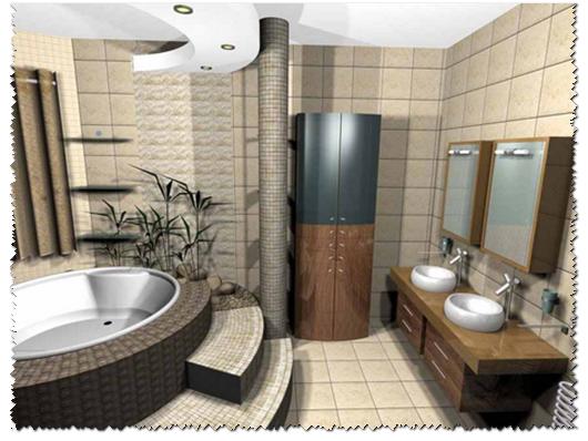 kamar mandi rapi dan menawan