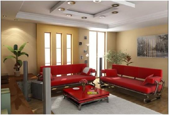 karpet pada ruang tamu minimalis