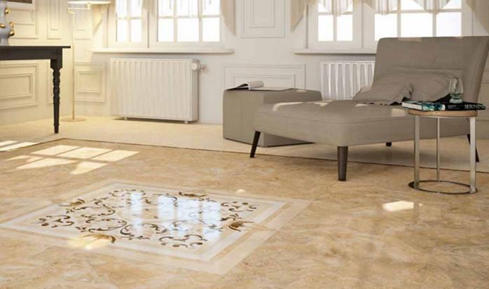 keramik granit untuk ruang keluarga