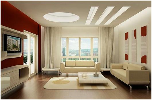 living room yang nyaman minimalis 2017