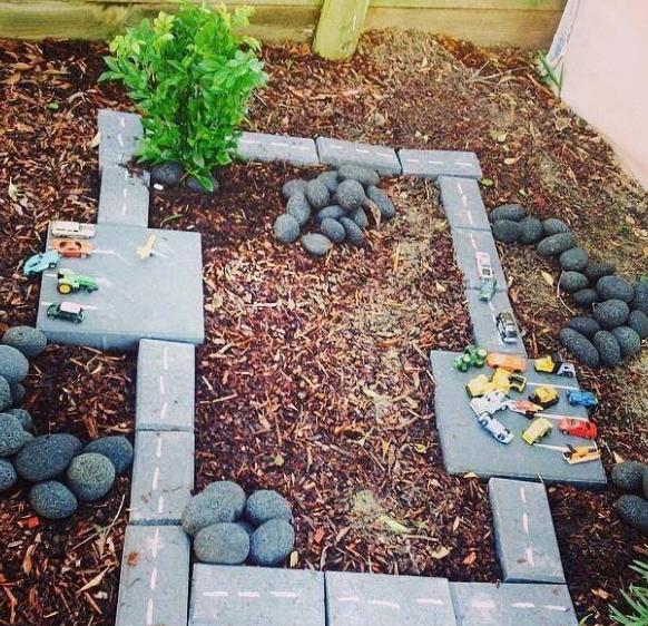 playground yang sesuai dengan kesukaan anak