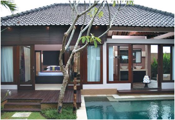 rumah simple mewah dengan teras minimalis