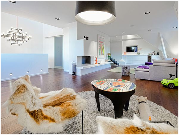 simple gaya ruang tamu minimalis