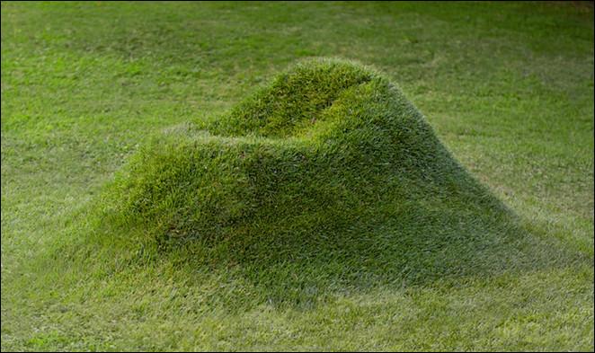 sofa alami dari rumput