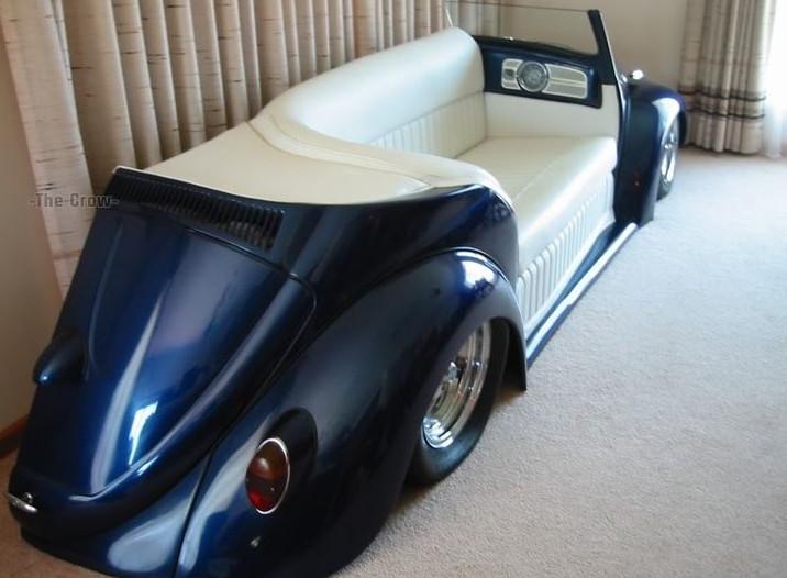 sofa keren dari mobil bekas
