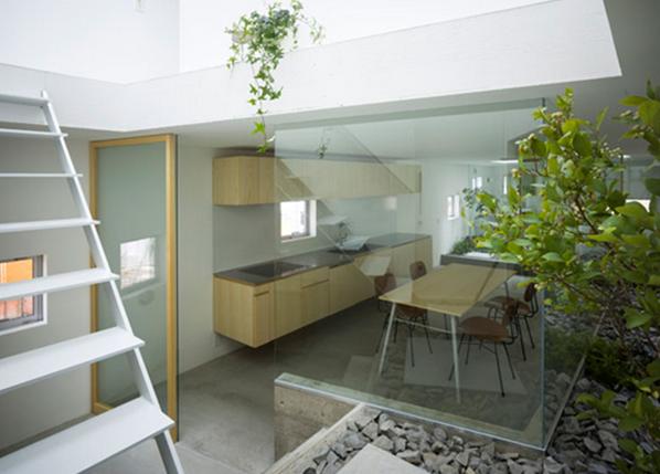 ventilasi ruang terbuka yang bagus untuk rumah sejuk