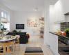 bergaya elegan dan modern ruang apartemen