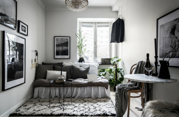 desain interior ruang apartemen kecil