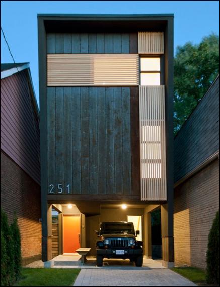 desain rumah modern sederhana di kanada