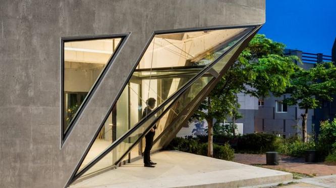 desain unik bentuk rumah