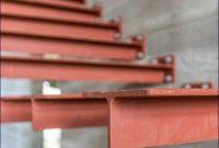 gambar konstruksi tangga dari besi