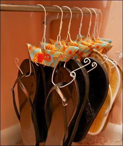 hanger untuk rak sendal