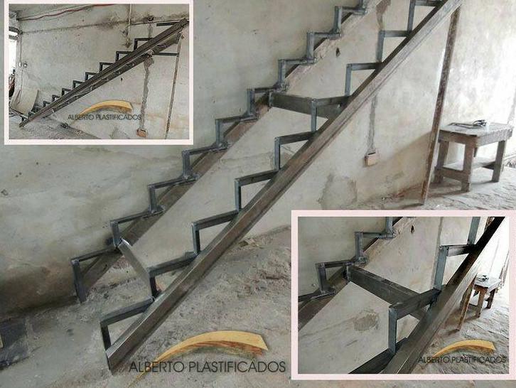 konstruksi buat tangga besi yang ringkas