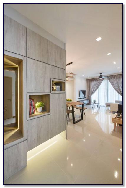 ruangan modern dengan furniture modern